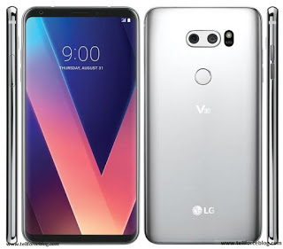 Talking about the amazing sound quality of the LG V30