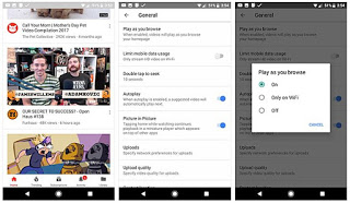YouTube testing a new auto-play feature for homepage videos for Android users