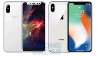 Checkout the Cloned iPhone X - Hotwav Symbol S3