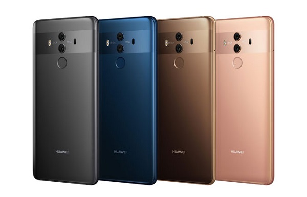 Huawei Mate 10 Pro in colors