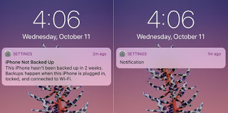 iOS 11 now has a new lockscreen notifications