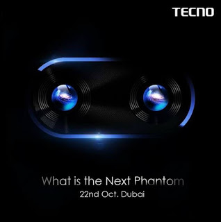 Tecno Mobile set to launch a New Phantom Phone on October 22