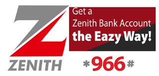 Zenith Bank Upgrades its *966*0# Account Opening USSD Service