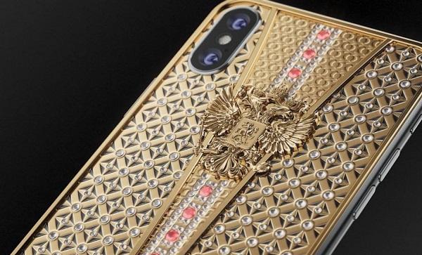 Caviar unique iPhone X with over 300 precious