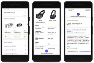 Google adds mobile shopping tools and more product information to its Search App
