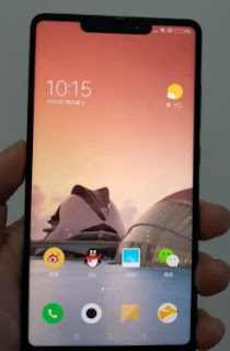 Leaked photo of Xiaomi Mi Mix 2s show an iPhone X-style cut-out