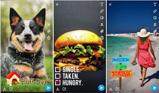 Latest Snapchat App comes with context-specific filters