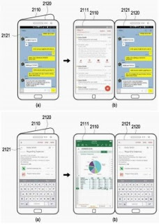 Checkout the interface of a dual-screen 'Galaxy X' prototype