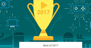 Google Announces The Best App, Games, Movie, Song And So Many More For 2017
