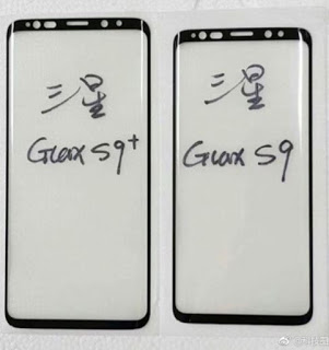 Samsung Galaxy S9 and S9+ front panels and alleged battery capacity leaks