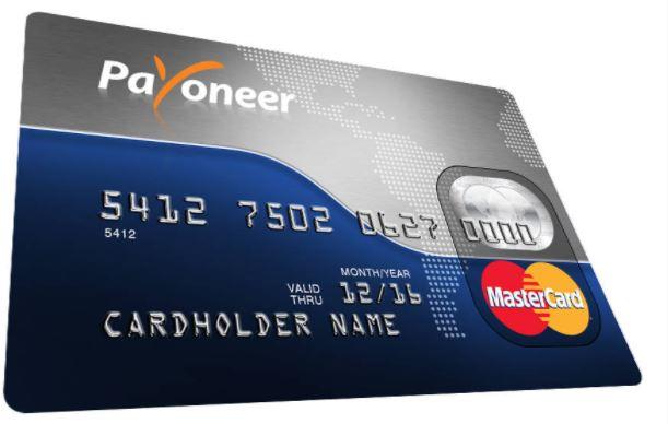 Payoneer ATM Card