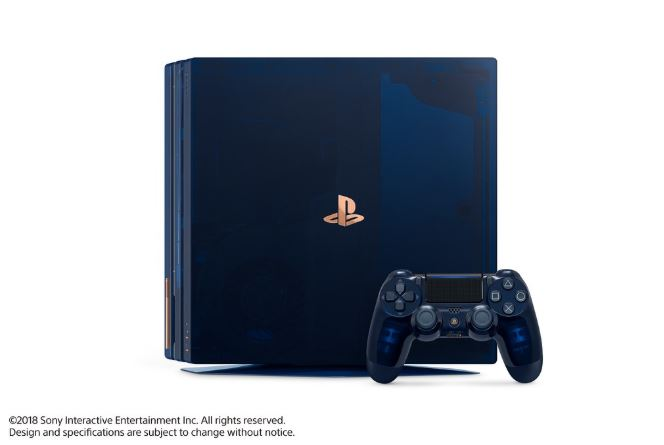 Sony Celebrates Milestone With The Launch Of 500 Million Limited Edition PS4 Pro