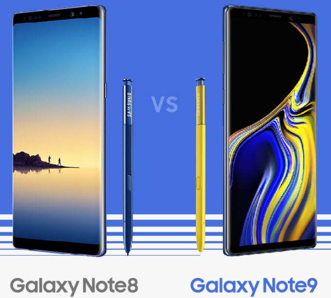 The Samsung Galaxy Note9 Infographics: Note9 vs Note8, S Pen and More