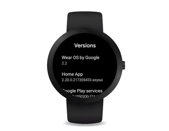 New Google wear OS Update