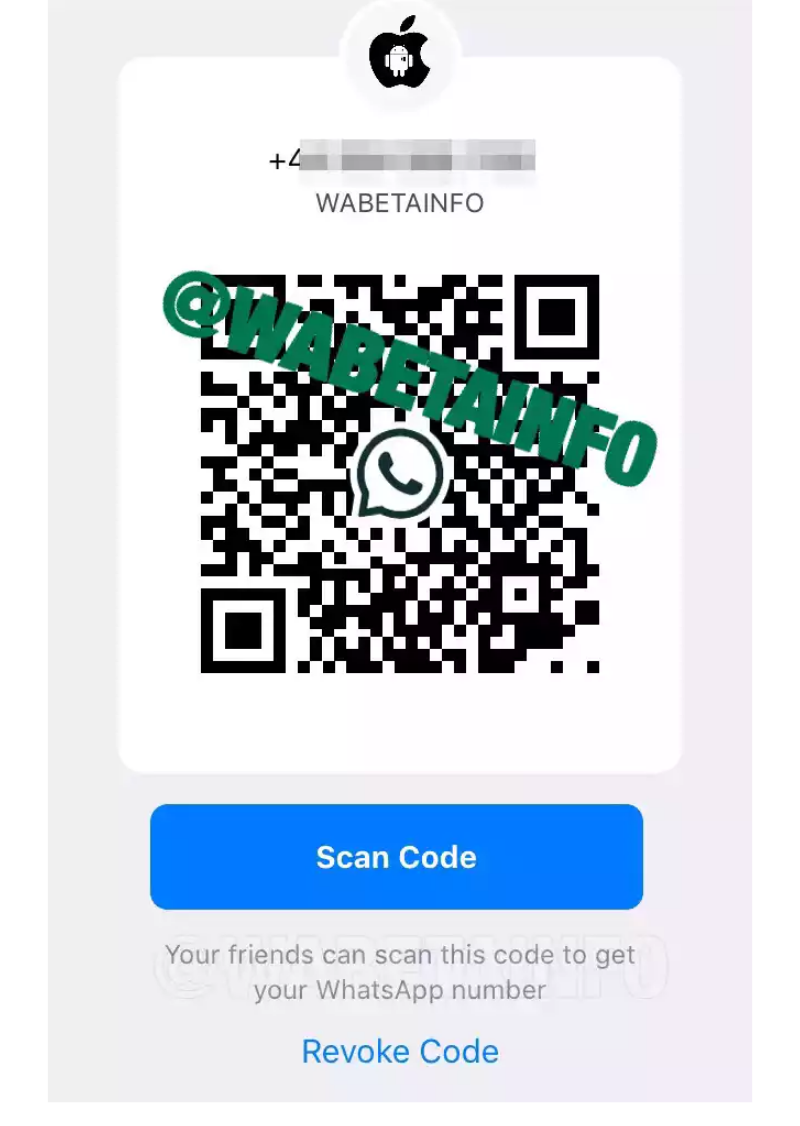 "WhatsApp Gets QR Code and ""Add Contact"" Feature"