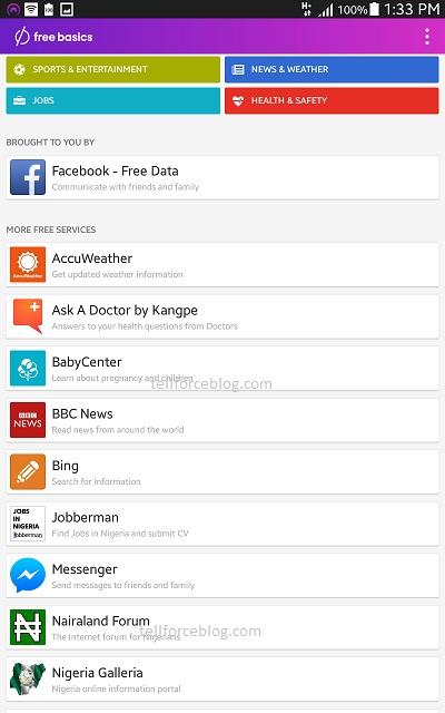 MTN-Facebook Free Basics
