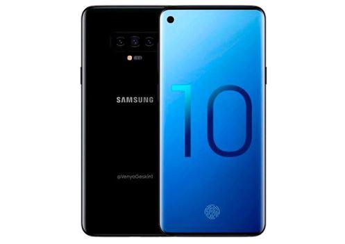 Samsung Galaxy S10 concept render