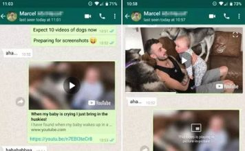 WhatsApp Picture-in Picture