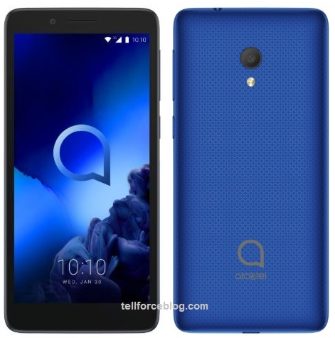 Alcatel 1c in Enamel Blue