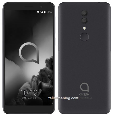 alcatel 1x (2019) with fingerprint
