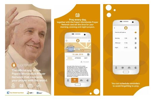 Click To Pray app.