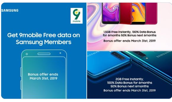 Get Free 9Mobile Data on Samsung Phones