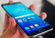 Grip on Samsung Galaxy 7 Edge