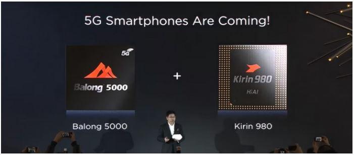 Huawei 5G Smartphone coming