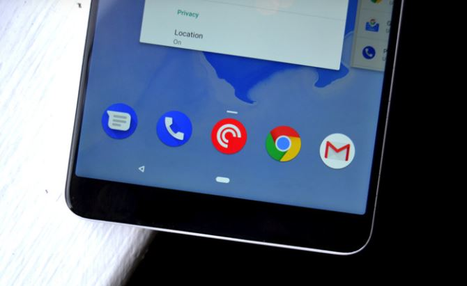 Android Q Gesture to replace the back button