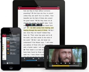 Bible On Mobile Devices