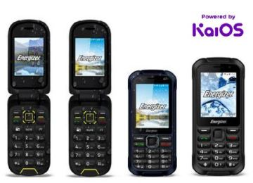 ENERGIZER FEATURE PHONES TO RUN ON KAIOS.