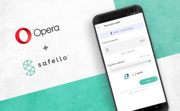 Opera partners Safello exchange
