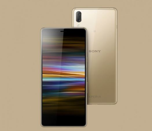 Sony Xperia L3 in Gold