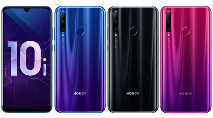 Honor 10i in colours