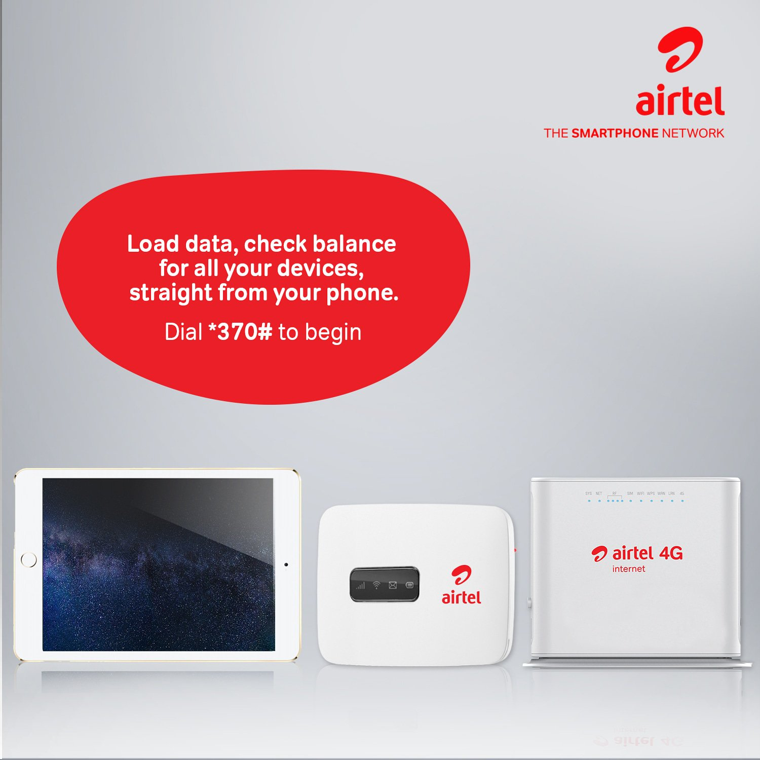 Airtel *370# Alternative Data Line Manager - How it works