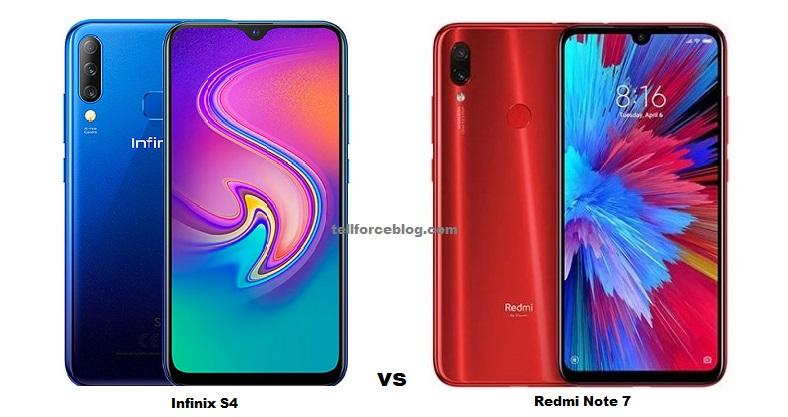 Infinix S4 vs Redmi Note 7