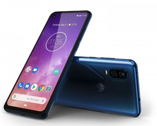 Motorola One Vision in Blue