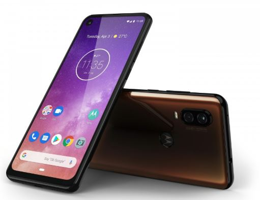 Motorola One Vision in Bronze
