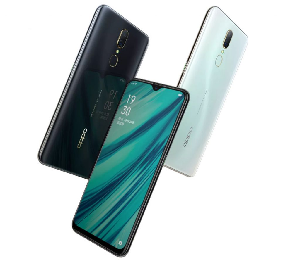 Oppo A9x In colours
