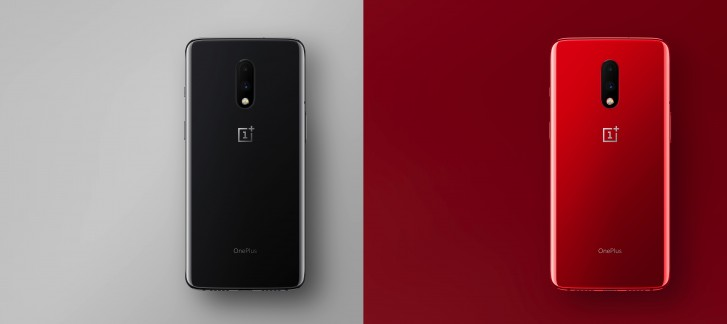 OnePlus 7 in colours