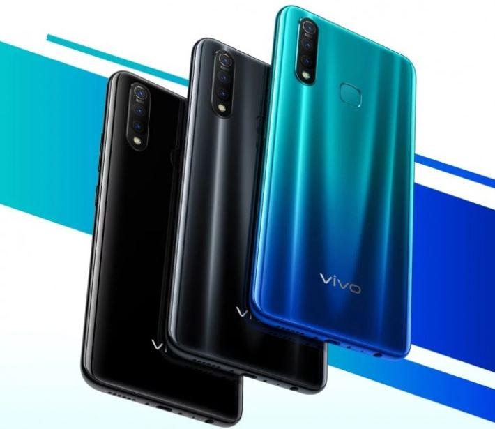 vivo Z5x in colours