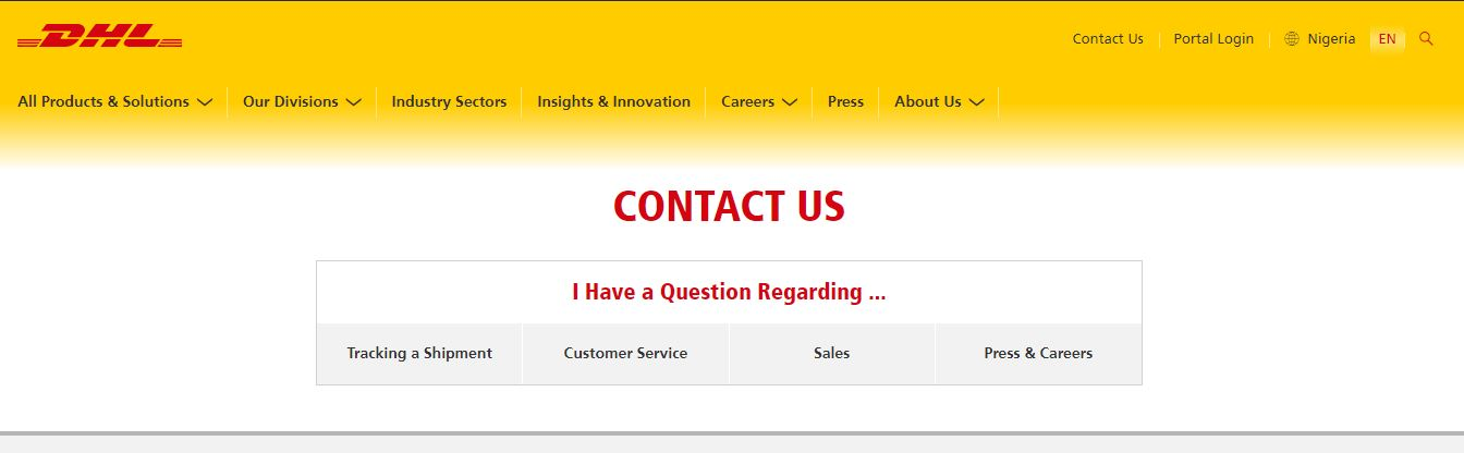 Dhl Customer Service Phone Number >> How To Reach Contact Dhl Customer Care Service