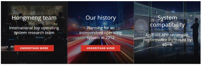 HongMeng OS Website Goes Live