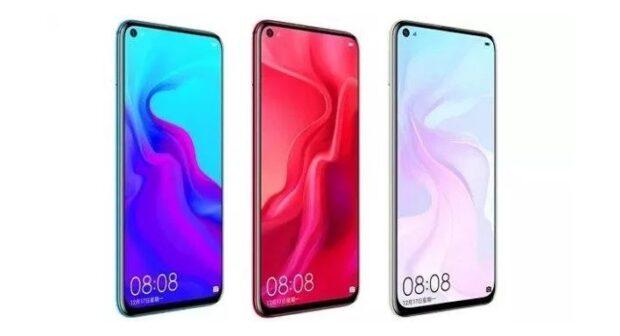 Huawei nova 5 in colours