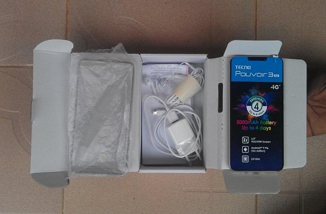 Tecno Pouvoir 3 Air unboxing and review 2