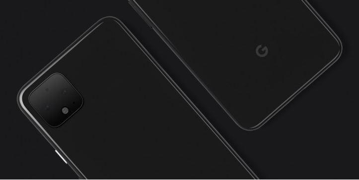 Google Pixel 4 supposed back