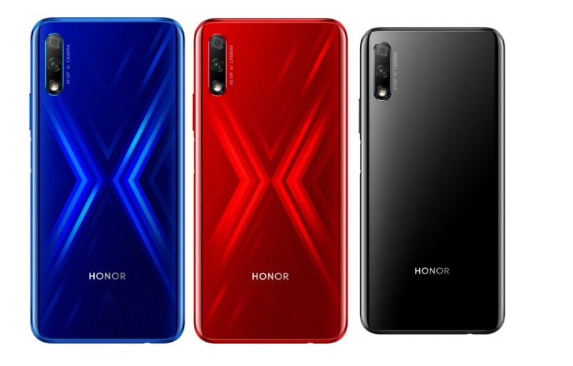 Honor 9x in colours
