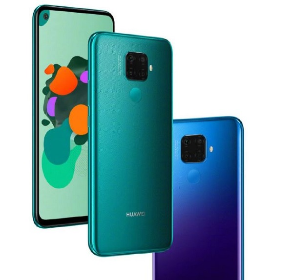 Huawei nova 5i Pro in colours