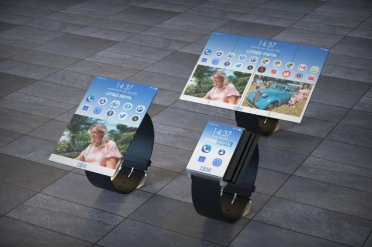 IBM Wants To Make Smartwatch That Can Transform To a Tablet
