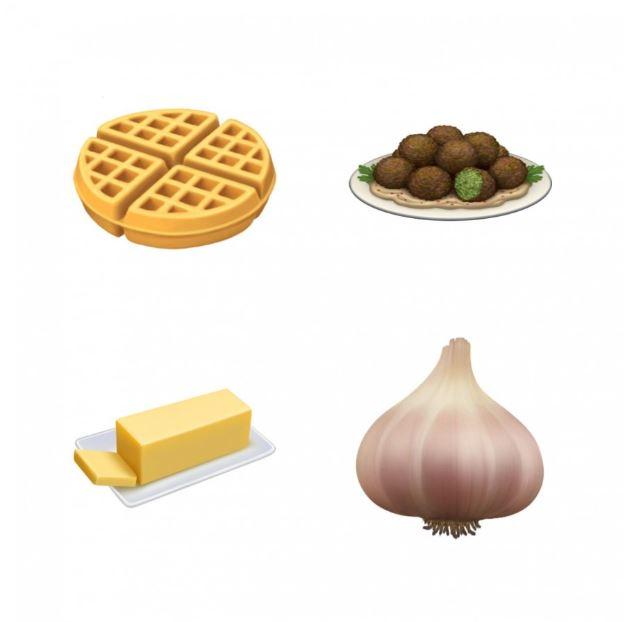 New animal, food and clothing emoji